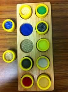 Pré-braille : apparier des textures